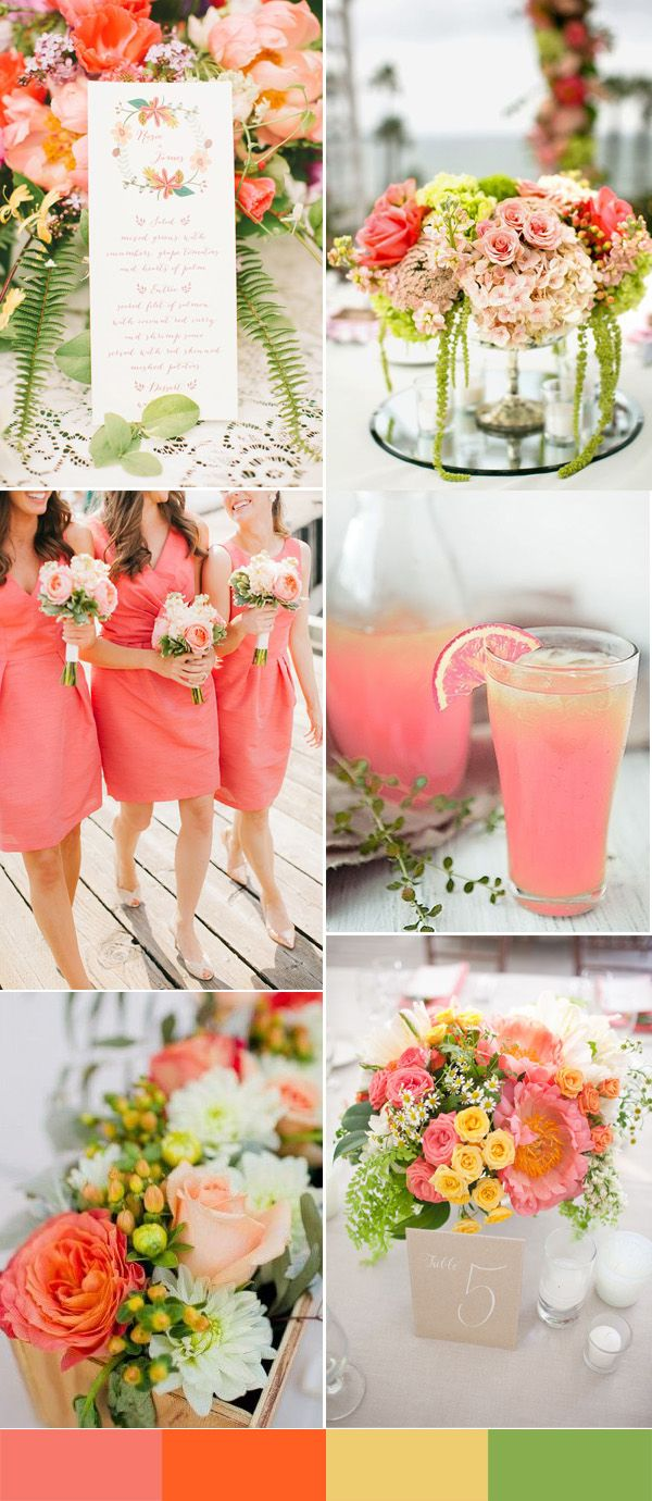 Best 20 Spring wedding colors ideas on Pinterest  Spring wedding themes Wedding color schemes