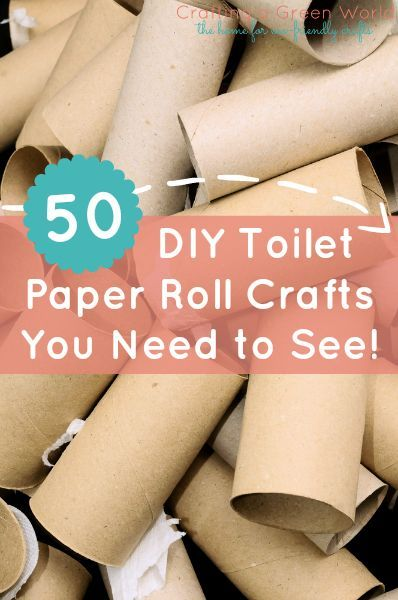 Toilet paper roll crafts Paper roll crafts and Toilet