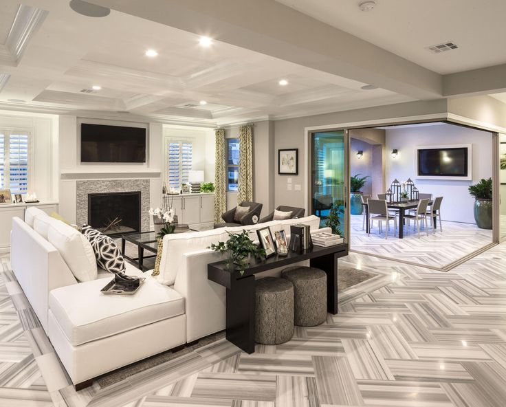 Model Home Family Room Pictures