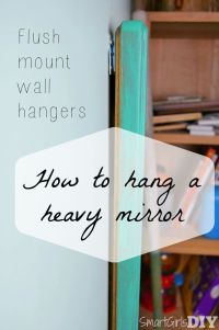 17 Best ideas about Mirror Hanging on Pinterest | Small ...