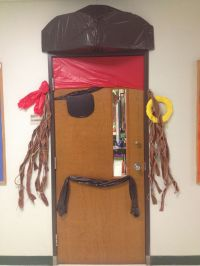 Pirate door with a Jack Sparrow twist | Classroom theme ...