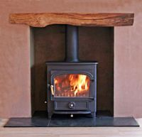 1000+ images about Bespoke fireplaces with Clearview wood ...