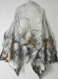 Best 20+ Nuno Felting ideas on Pinterest | Nuno felt scarf ...