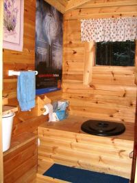 Outside+toilet | Tidy outdoor toilet | Outhouses, Dunnys ...