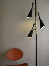 1000+ images about MCM Tension Pole Lamps on Pinterest ...