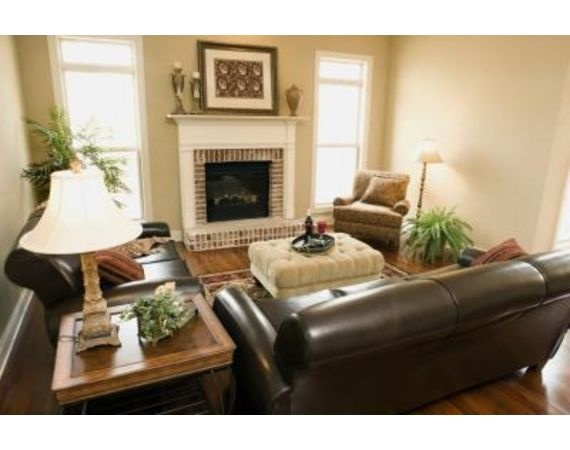 How To Accessorize A Brown Leather Couch Living Rooms