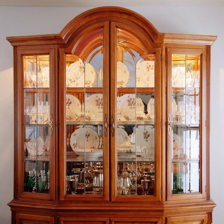 how to arrange a china cabinet  Google Search  Dining Room  Pinterest  Google Search and