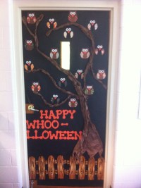 27 best images about Halloween teacher doors for trick or ...
