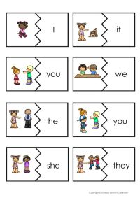 17 Best ideas about Teaching Pronouns on Pinterest