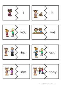 17 Best ideas about Teaching Pronouns on Pinterest