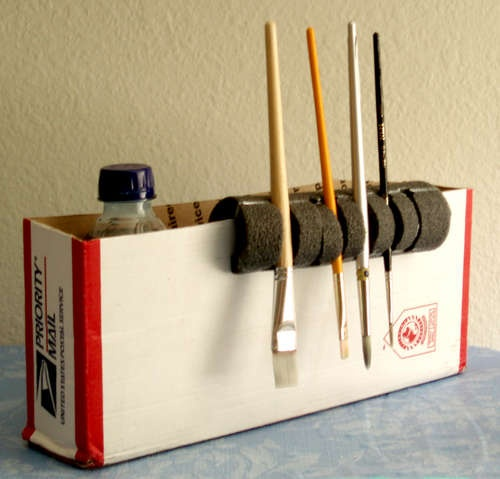 1000+ ideas about Paint Brush Holders on Pinterest