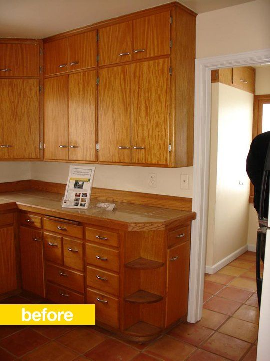 Kitchen Before  After A Cookbook Author Transforms His 1950s Kitchen  Flats Cabinets and 50s