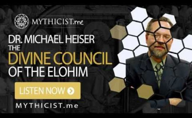 Dr Michael Heiser Divine Council Of The Elohim The
