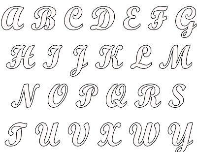 25+ melhores ideias sobre Fontes alfabeto completo no