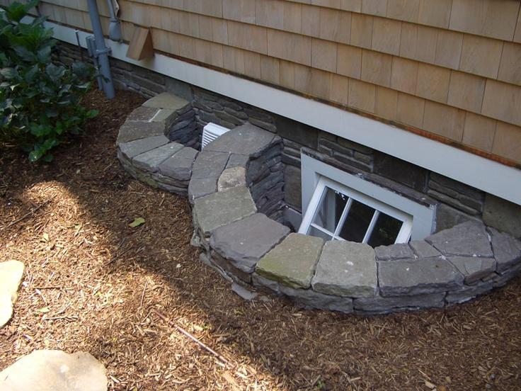 Basement Window Well Designs