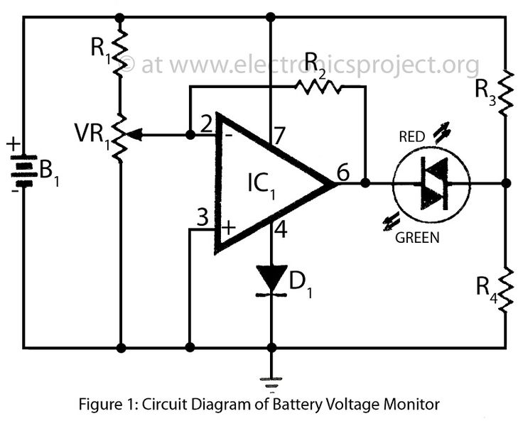 electronics mini projects circuit diagram