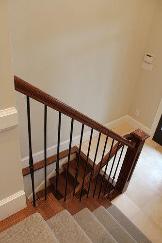 Split Level Entry Design tile floor  Entryway