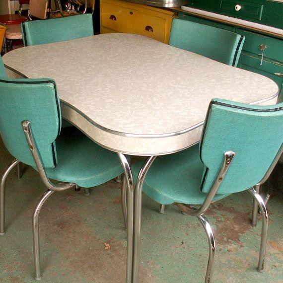 25+ best ideas about Vintage kitchen tables on Pinterest