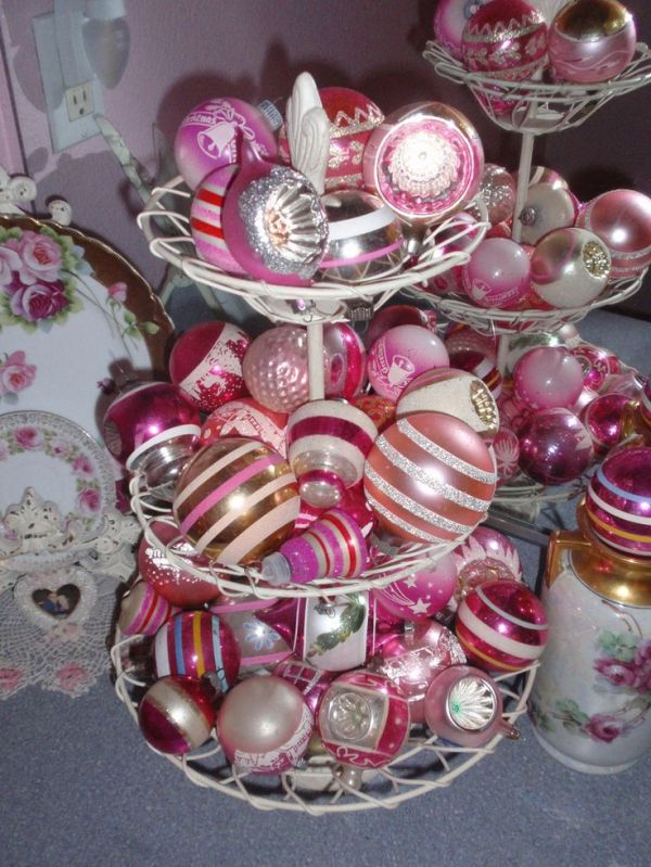 25 Best Ideas about Vintage Pink Christmas on Pinterest