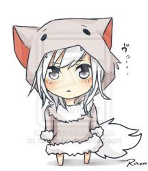 chibi wolf anime minecraft drawings cute kawaii wolves awesome werewolf drawing deviantart hair