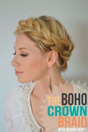 ideas crown braids