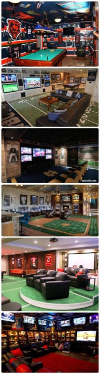 25+ best ideas about Sports Man Cave on Pinterest | Sports ...