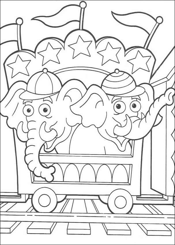 253 Best Images About Circus Carnival Carousel Coloring