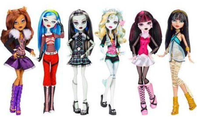 Monster High Original Dolls 6 Pack Toys Walmart And