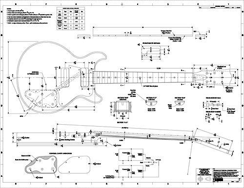 gibson les paul special wiring diagram prs se pickup body template printable - invitation templates   guitar plans pinterest sök ...
