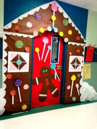Gingerbread House classroom door! | Classroom | Pinterest ...