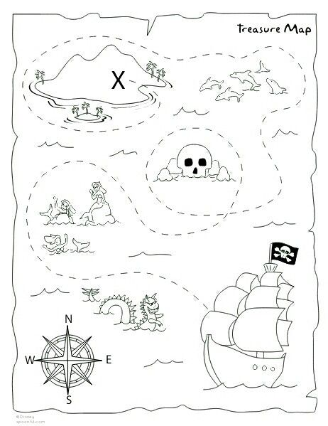 25+ best ideas about Pirate Treasure Maps on Pinterest