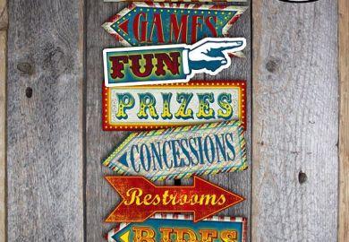 Vintage Carnival Signs