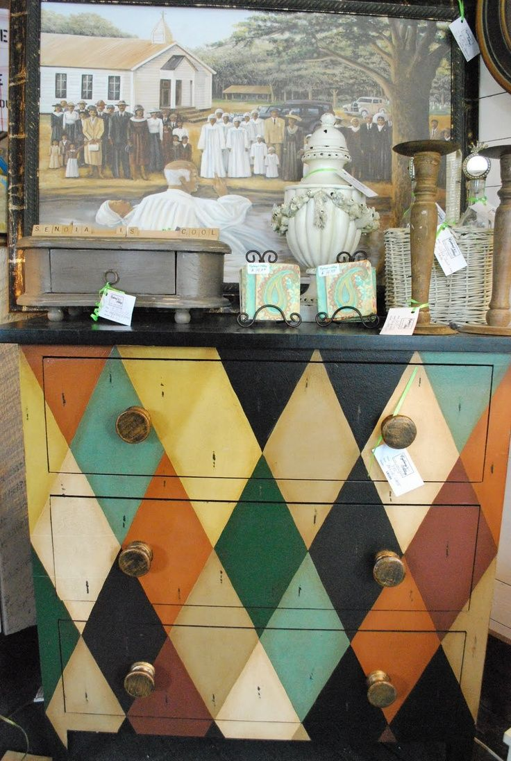 what a cool treatment for an old dresser a new life in