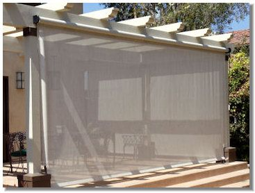 36 Best Images About Shade Cloth Curtains On Pinterest Shade