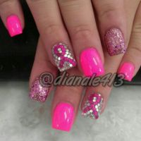 113 best images about Breast Cancer Awareness Nail Design ...