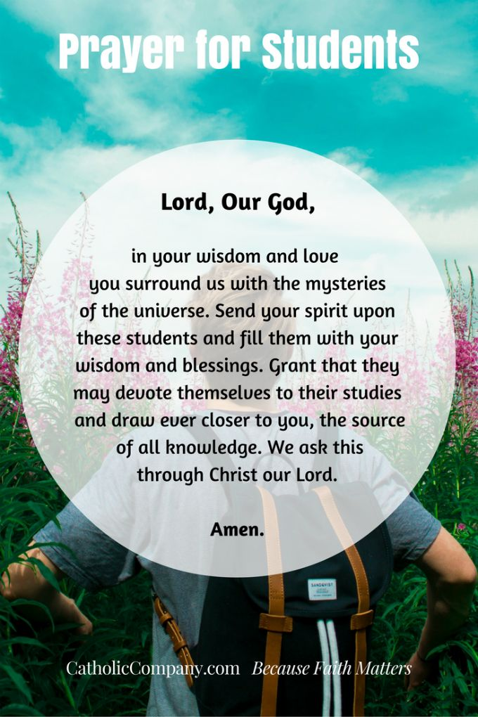 Prayers for Your Children As They Begin A New School Year
