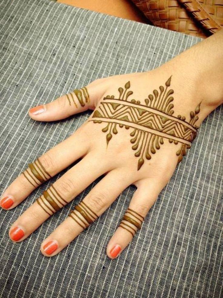 Best 20 Gambar Henna ideas on Pinterest  Simple henna