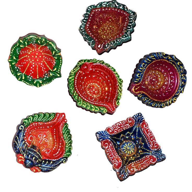 17 Best Images About Diwali Diyas On Pinterest Hand Painted