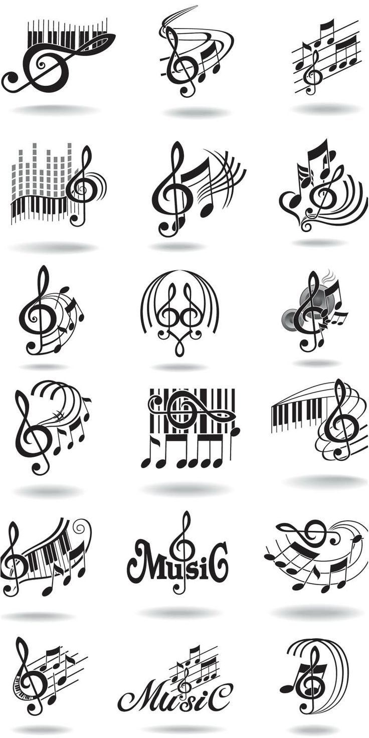 25+ best ideas about Music notes decorations on Pinterest