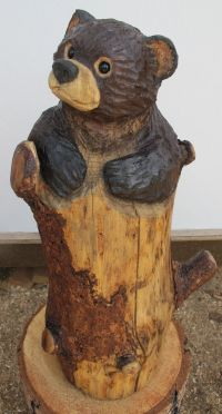 17 Best images about Bear carvings on Pinterest