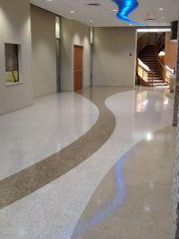 Bethesda Butler Hospital - Water Jet Cut Floor Design ...