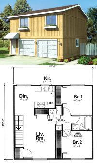 1000+ images about Garage Apartment Plans on Pinterest | 3 ...