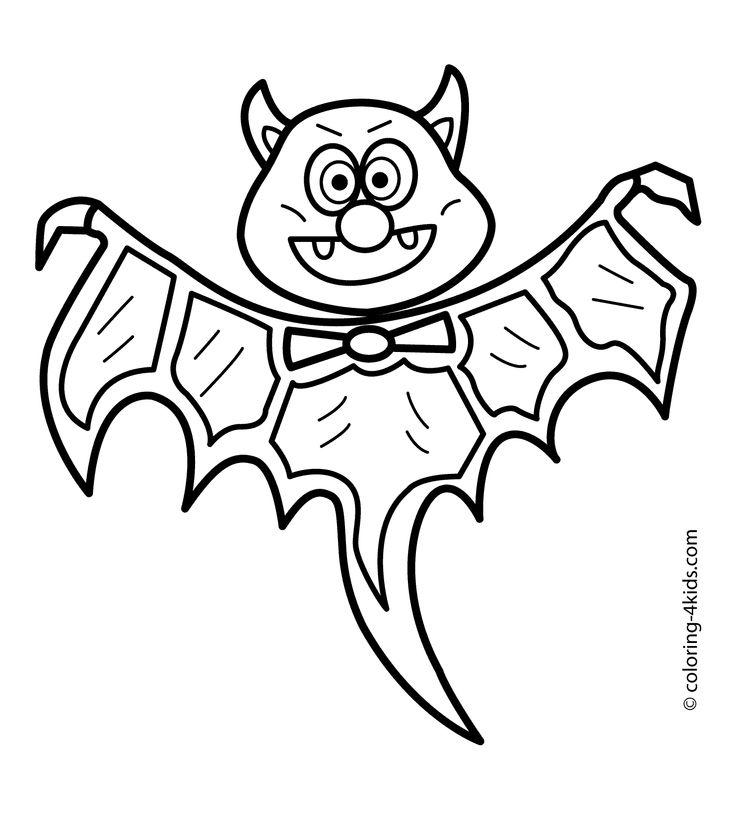 25+ best Bat coloring pages ideas on Pinterest
