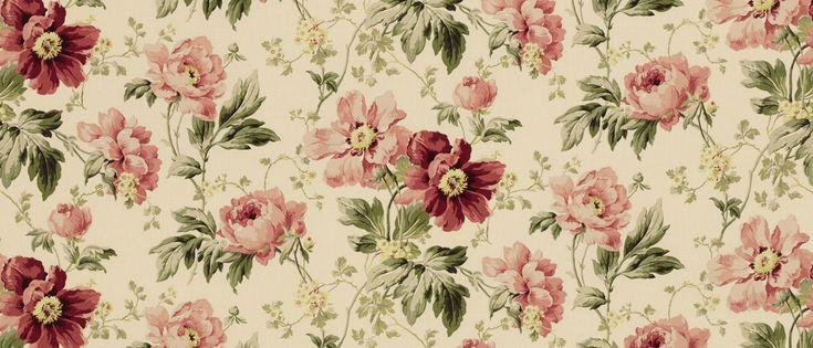 Peony Garden Cranberry Linen Mix Fabric At Laura Ashley Ideas For The House Pinterest