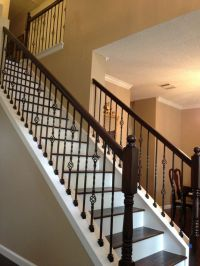 15+ best ideas about Wrought Iron Stairs on Pinterest