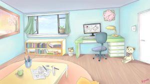 anime bedroom deviantart background scenery living ref comic rooms simple đa lưu từ