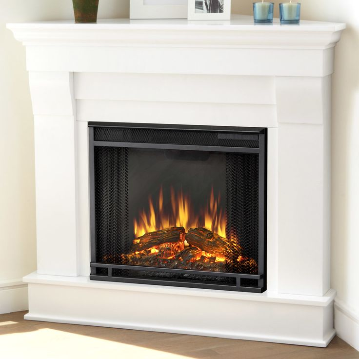 Corner Electric Fireplace With Mantel 17 Best Ideas About Corner Electric Fireplace On Pinterest