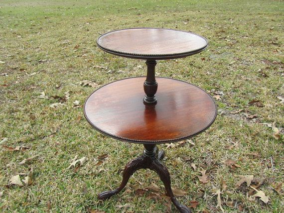Vintage Side Table, End Table,table.furniture, Two Tier