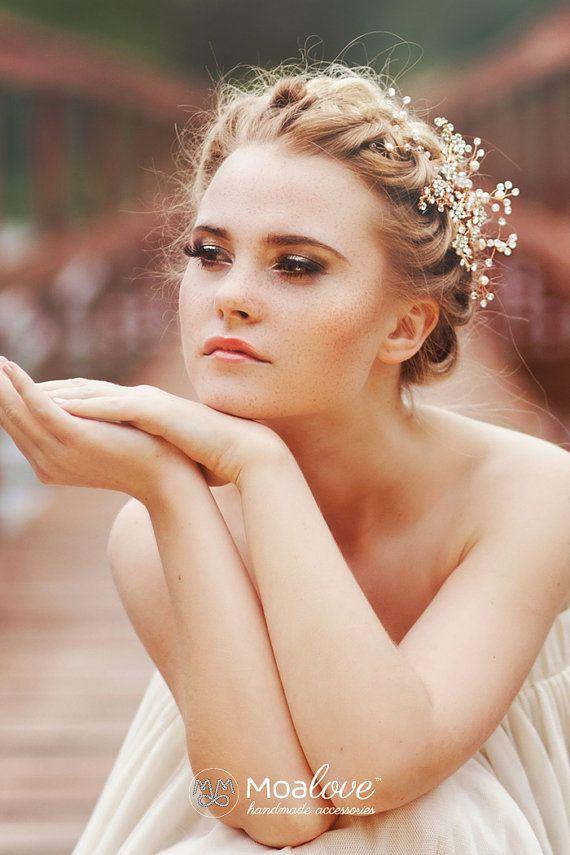 Die Besten 25 Braut Haarschmuck Ideen Auf Pinterest