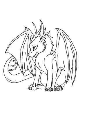 dragon drawings easy dragons cool coloring drawing pages draw printable simple adult colouring deviantart animal pix realistic fantasy sheets pixgood